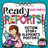 Story Elements Book Report Posters