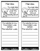 Story Elements Book Report Illustration and Written Version Flip Books