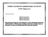 Story Elements Bookmark Activity