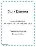 Story Elements Bundle Pack - CCS 2.RL.1, 2.RL.2, 2.RL.3, 2