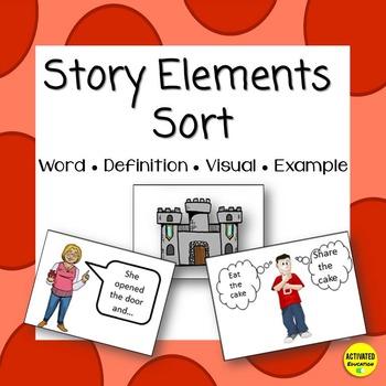 Story Elements Card Sort