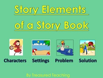 Story Elements Center Character, Setting, Problem/Solution