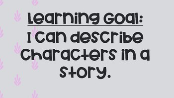 Story Elements Character
