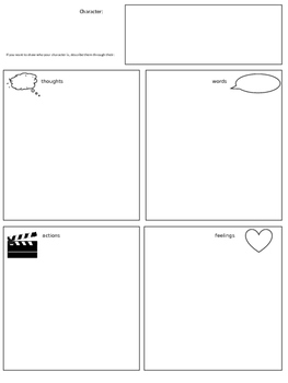 Story Elements, Character Development, and Showing vs. Telling in Narratives
