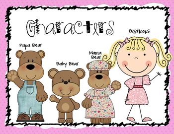 Story Elements:  Characters Setting Plot (Goldilocks and the Three Bears)