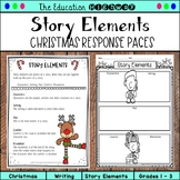 Story Elements | Christmas Response Pages