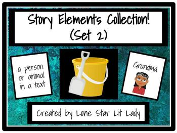 Story Elements Collection Game - Set 2