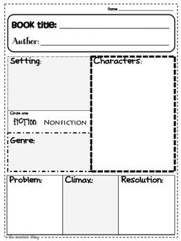 Story Elements (Common Core)