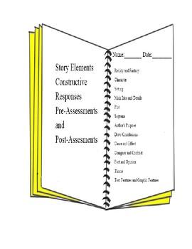 Assessments Story Elements Constructive Responses