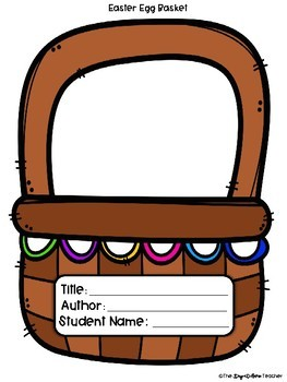 Easter Story Elements Reading Craftivity