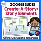 Google Classroom Activities WRITING STORY ELEMENTS graphic organizer