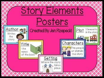 Story Elements-Criss Cross Border