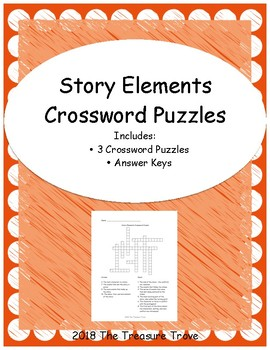 Story Elements Crossword Puzzles