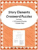 Story Elements Crossword Puzzles