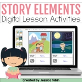 Story Elements Digital Activities, Story Elements Google S