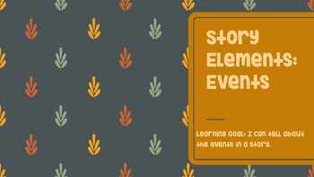 Story Elements: Events