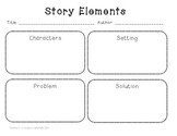 Story Elements Fill-in Chart