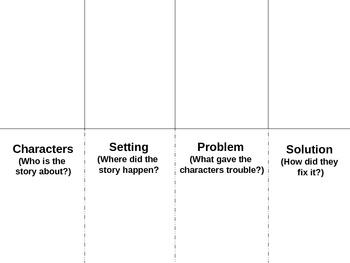Story Elements Flip Book