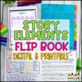 Story Elements Flip Book   Google Classroom