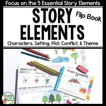 Story Elements Flip Book for Plot