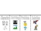 Story Elements Flip Book/Graphic Organizer