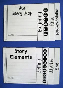Story Elements Flip Books