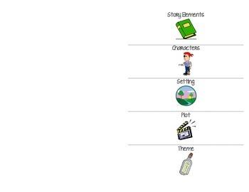 Story Elements Flip Chart