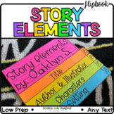 Story Elements Flipbook