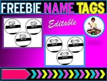 Name Tags (Hello)