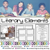 Printable Story Elements for Intermediate Grades ELA 3-5