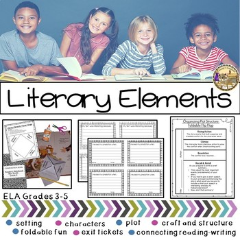 Printable Story Elements for Intermediate Grades