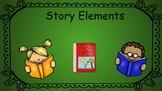 Story Elements Google Slides Pear Deck Presentation for RE