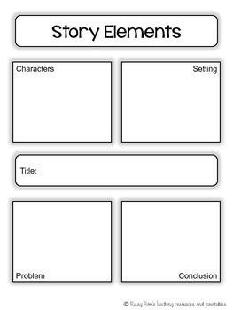 Story Elements / Graphic Organizer