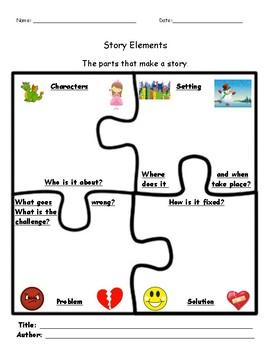 Story Elements Graphic Organizer