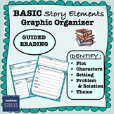 Story Elements Graphic Organizer (Great resource for VOLUNTEERS!)