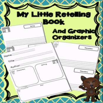 Story Elements Graphic Organizer Bundle