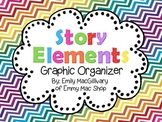 Story Elements: Graphic Organizer Freebie