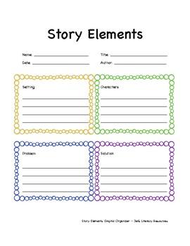 Story Elements Graphic Organizer Printable