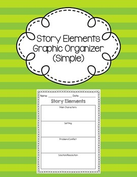 Story Elements Graphic Organizer (Simple)