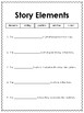 Story Elements Graphic Organizer and Quick Check