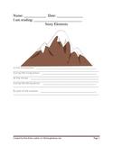Story Elements Graphic Organizer by Kleinspiration
