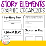 Story Elements Graphic Organizers for Writing Workshop