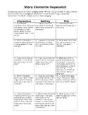 Story Elements Hopscotch