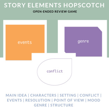 Story Elements Hopscotch