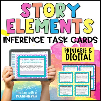 Story Elements Inference Task Cards