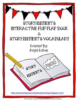 Story Elements Interactive Flip Book