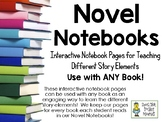 Story Elements - Interactive Notebook Pages - Use for ANY Book!