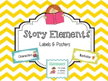 Story Elements - Labels & Posters