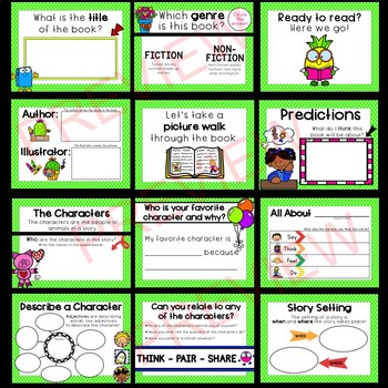 Story Elements Lesson: Interactive ActivInspire or PPT!