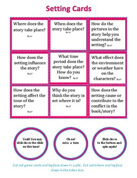 Story Elements Lesson Plan & Game
